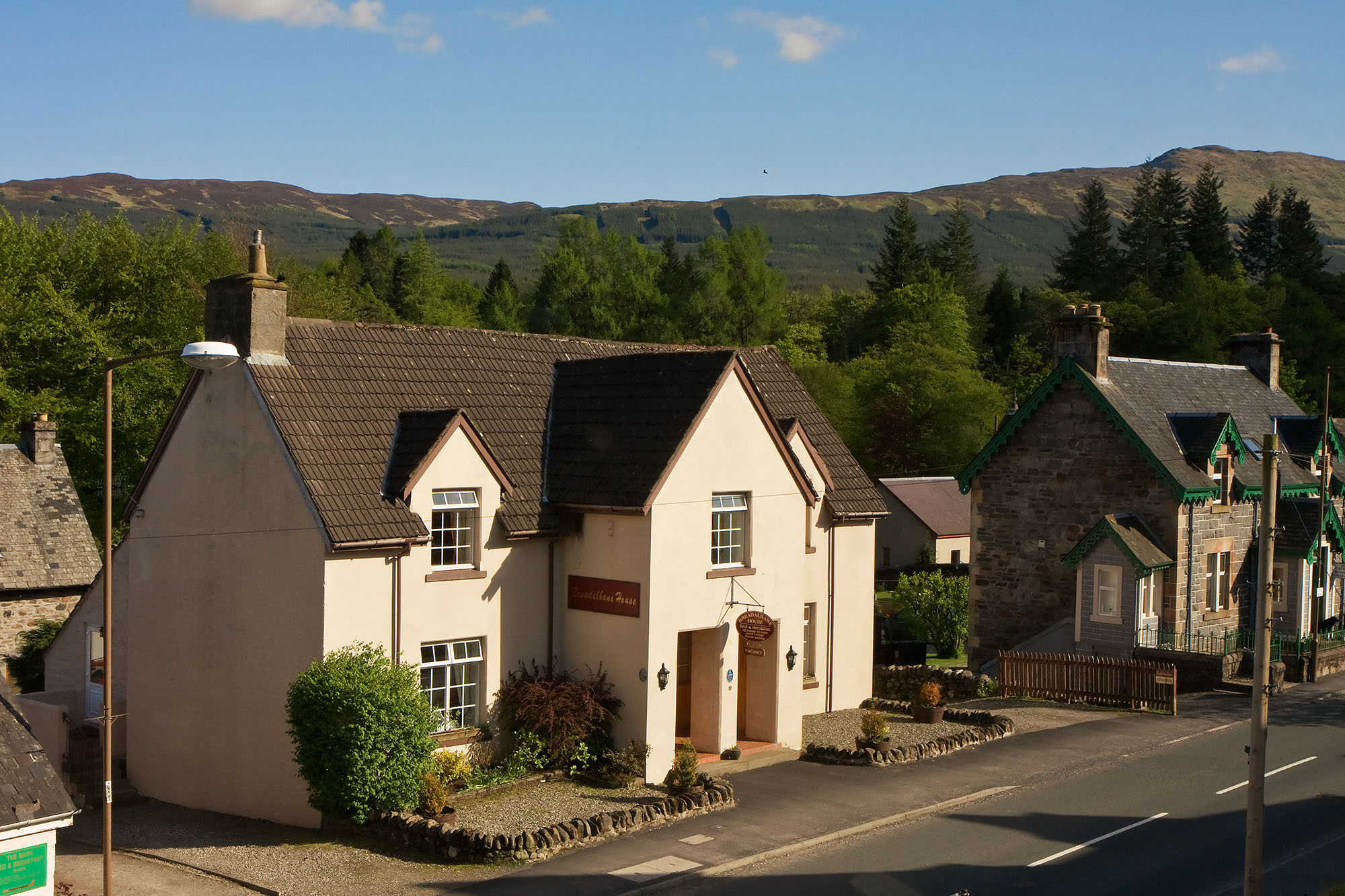 Breadalbane House, Killin, Loch Tay